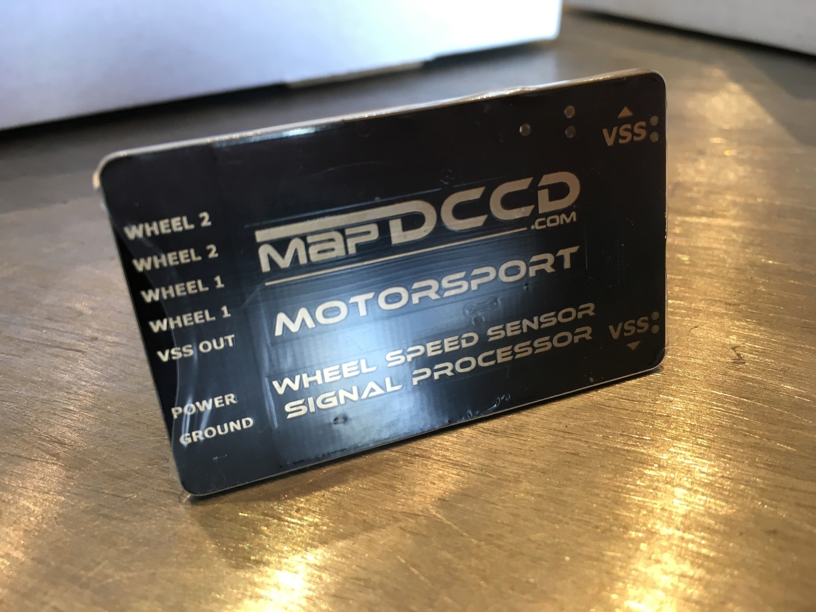 MAPDCCD Motorsport Wheel Speed Sensor Signal Processor