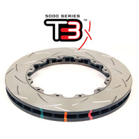5000 Rotor T3 Slot - With Replacement NAS Nuts KP [ Subaru WRX STI 02-11 ]