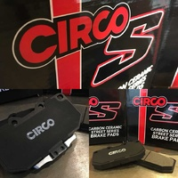 Circo S Brake Pads suits WRX 99-07 2 pot rear