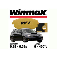 W1 Brake Pads suits WRX EVO Brembo Front