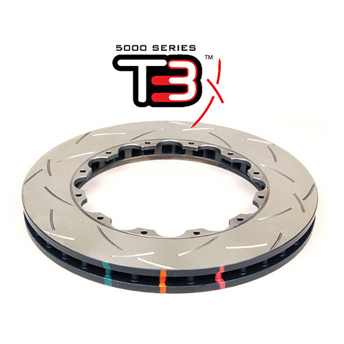 5000 Rotor T3 Slot  - With Replacement NAS Nuts KP [ Subaru WRX  US SPEC F ]